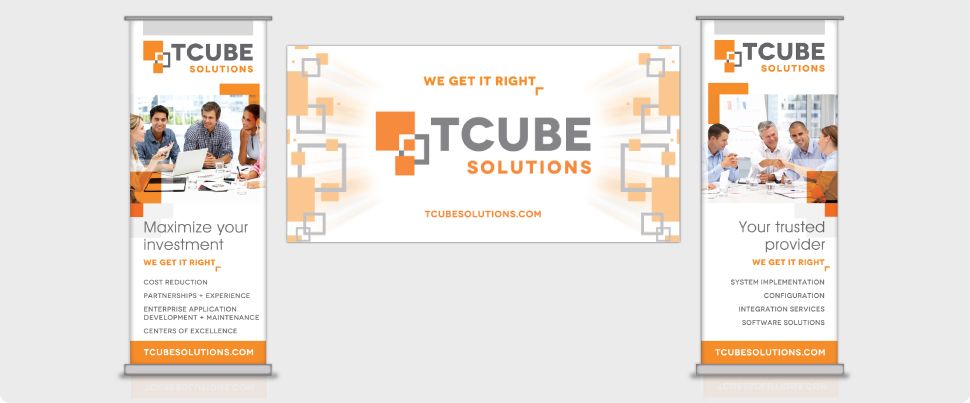 TCube Solutions - branding and web design